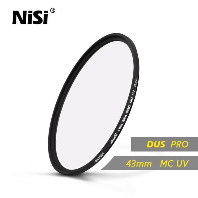 5b62925cd6cdde Nisi 43mm MC UV DUS Ultra Slim Professional MC UV Filter 43mm Double Sides  12 Layers