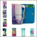 for Huawei Ascend P6 P6-C00, P6-U06, P6-T00 TD Case Mobile Phone Case Fashion Painting Case,Wallet Case Free Shipping
