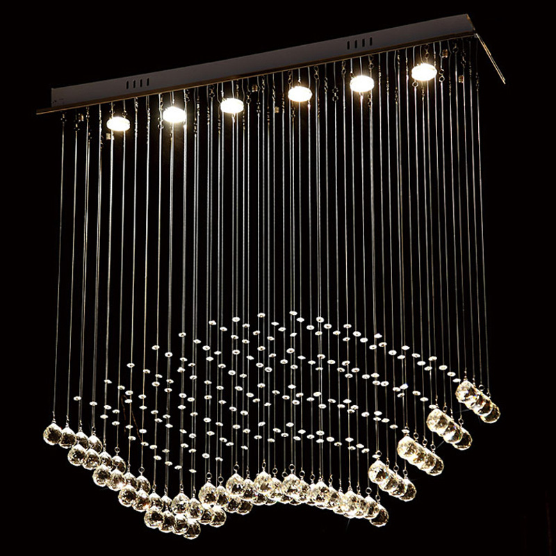 Modern Crystal Wire Hanging Lamp GU10 Bulb Luxury Raindrop Pendant Light Hotel Villa Staircase Lobby Foyer Lighting Fixture P507 футболка print bar новогодняя фантазия