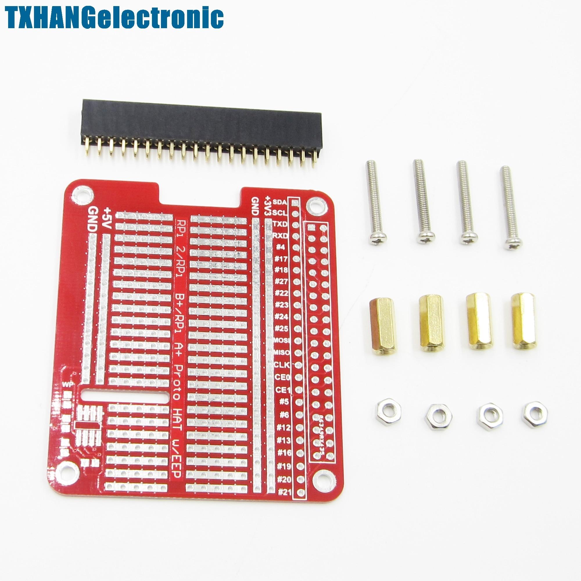Prototyping Hat Shield Hole Plate DIY Kit For Raspberry Pi 2 Model B A+//B