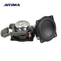 AIYIMA 2Pcs 2Inch Mini Audio Portable Speakers 4Ohm 20W Full Range Bluetooth Speaker For DIY Home