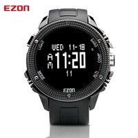 EZON альтиметр барометр термометр компасы погоды наружные мужские цифровые часы спортивные часы альпинистские походные наручные часы