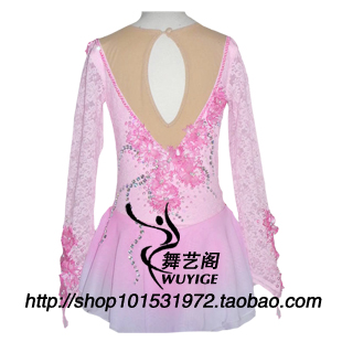 children skating dress free shipping skate dess training skate dresses high quality Professional customize clothes