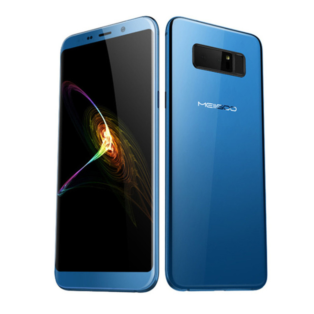 5.99 Inch MEIIGOO NOTE 8 MTK6750T 1.5GHz Octa Core 3D Curved Bezel less FHD+ Screen Android 4G LTE 4GB RAM 64GB ROM Smartphone