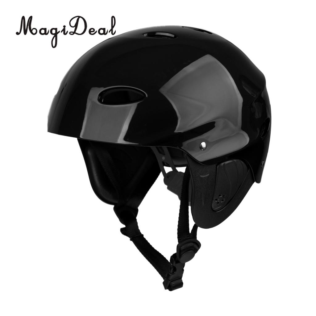 MagiDeal Water Sports Safety Helmet Kayak Canoe Boat Sailing Protection Cap M/L for Riding Kayaking Boating Climbing Camping Acc