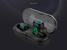 Q13S TWS Bluetooth 5.0 Headset Mini Twins Wireless Stereo Earphone In-Ear Earbud Charging Box with Mic for Smartphones цены