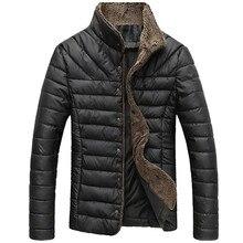 MYDC 2018 осень зима для мужчин теплая куртка повседневные парки пальто однобортный верхняя одежда s брендовая