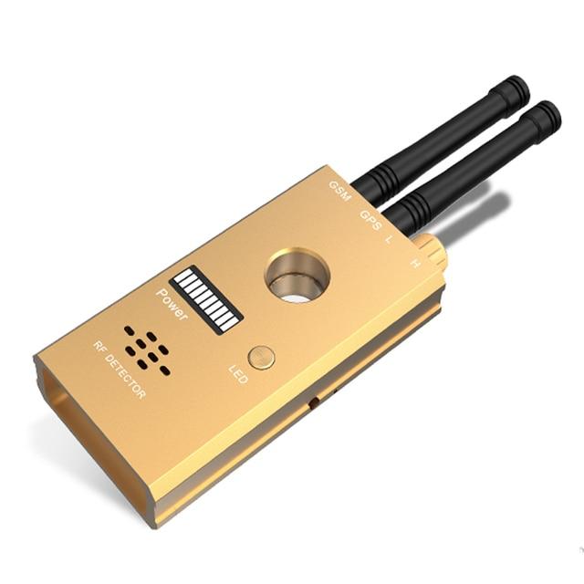(1set) High Sensitivity Wireless Signal Transmitting Detector with GSM GPS Dual Antenna with Voice Alarm IR Scan Camera Flashing