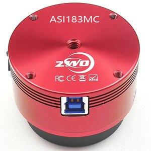 Image 2 - ZWO ASI183MC caméra dastronomie couleur ASI imagerie lunaire solaire planétaire/guidage haute vitesse USB3.0