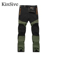 2017 New Men Cargo Pants Army Green Mens Casual Trousers Durable Quick Dry Autumn Male Joggers
