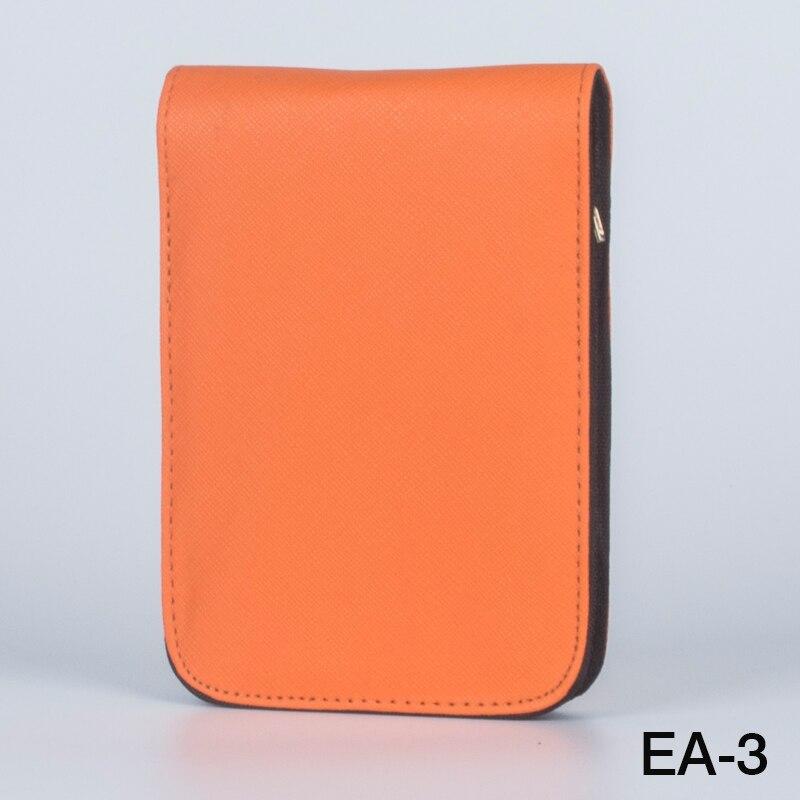 패션 오렌지 12 펜 가죽 가방 12 pcs 럭셔리 비즈니스 선물 펜을 설치할 수 있습니다bag nikebag bucketbag -