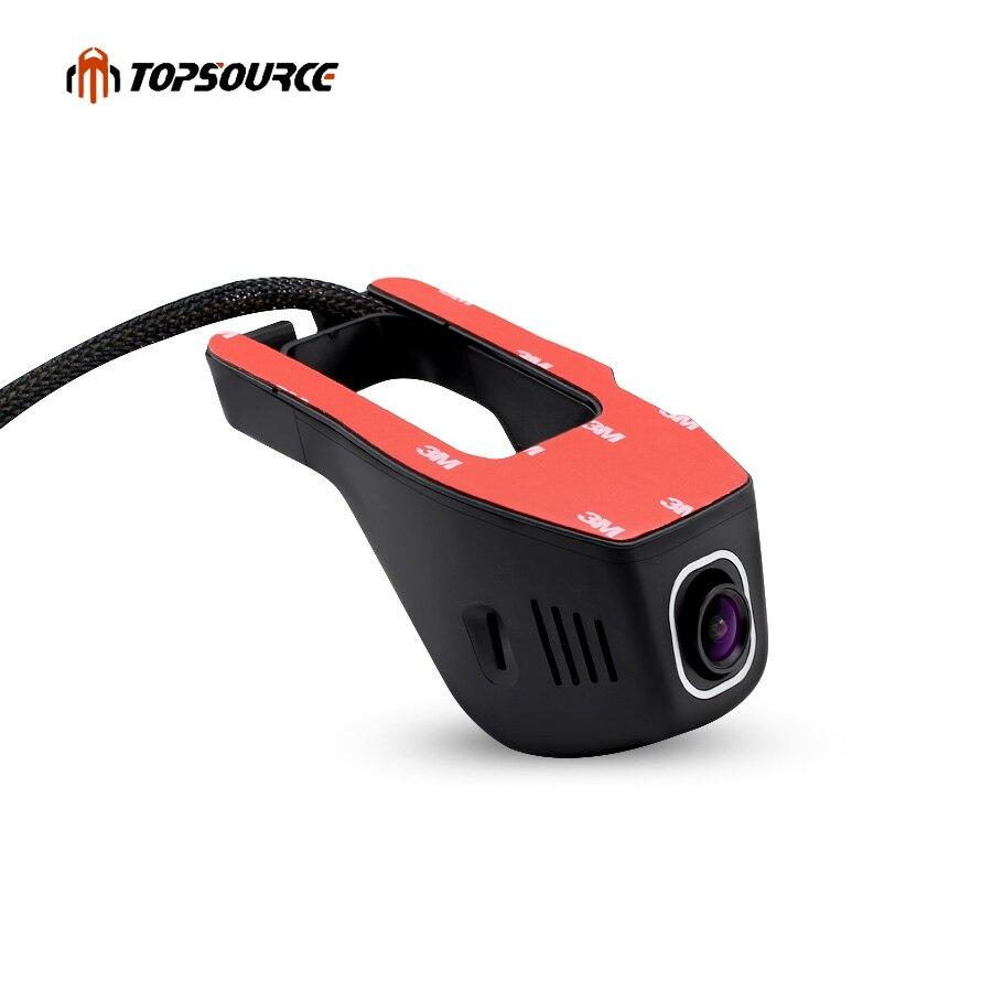 Car DVR Camera Video Portable Recorder WiFi APP Novatek 96655 IMX 322 dvr Full HD 1080p Registrator Night Vision Dash Cam 30FPS