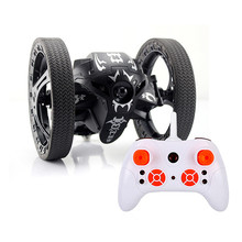 2.4G Remote Control Jumping Car 2 Second Rotation Bounce RC Toy Mini 2.4GHz Jumping RC Car Wheels Remote Control Robot