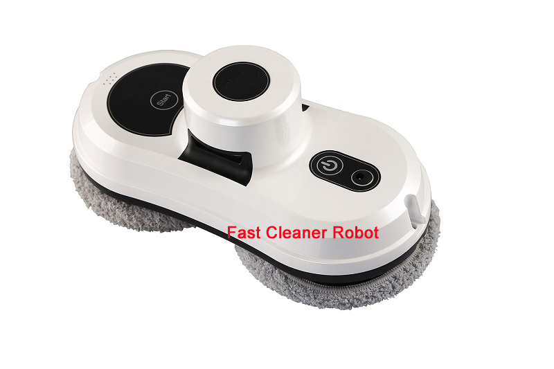 Remote Control anti-falling Magnetic Robot Window Cleaner , Window Cleaning Robot auto clean anti falling smart window glass cleaner remote control robot vacuum cleaner free shipping