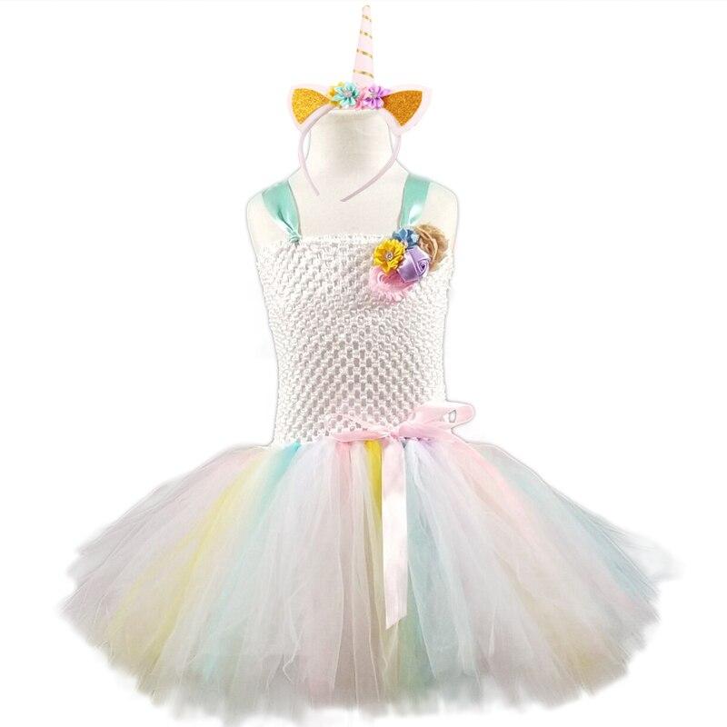 Posh Dream Rainbow Unicorn Girl Costume For Cosplay Party