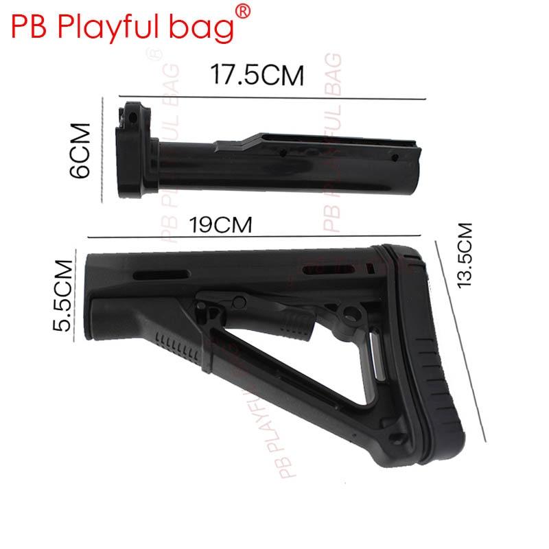 Fashion Tactics DIY Hobby PB Playful Bag CS Competitive Equipment Accessories M4 Lehui Jinming 8 Mkm2 Butt Gel Ball Gun KD37