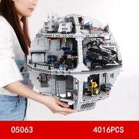 Горячая фильм Звезда смерти боевой самолет building block R2 D2 C 3PO робот штурмовиков цифры space wars кирпичи 75159 игрушки коллекция