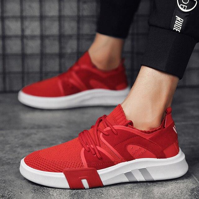 78e02162 2018 zapatos corrientes calientes para adultos hombre malla transpirable calzado  deportivo cómodo masculino profesional zapatillas deportivas
