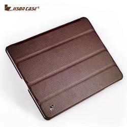 Jisoncase para ipad 4 3 2 funda para ipad funda abatible Folio soporte para Tablet diseñador fundas y fundas de cuero ultrafinas funda para ipad 9,7