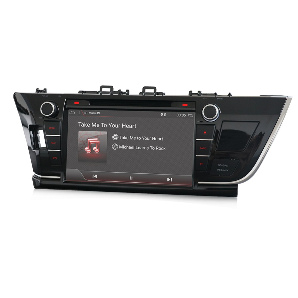 New 2din android automagnitol 2 din car radio cassette recorder For toyota corolla 2013-2016 with gps wifi support OBD DAB 3G 4G