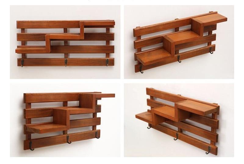 Cutii din lemn de mana Cargo Organizator Carcasa de depozitare Simplu - Organizarea și depozitarea în casă - Fotografie 6