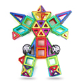 72pcs Magnetic Designer For Children 3D Blocks Model & Building Children Plastic Construction  Bricks Educational Toys For Kids