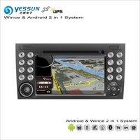 YESSUN Cho Mercedes Benz SLK class 2004 ~ 2010 Car Android Đa Phương Tiện Đài Phát Thanh CD DVD Player GPS Navi Navigation Âm Thanh Video Stereo