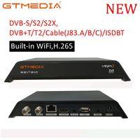 dvb digital WiFi HD DVB-T2 Terrestrial Digital Receiver Set Top Box עם נגן מולטימדיה H.265 / MPEG-2/4 תואם DVB-T עבור HDTV טלוויזיה (1)