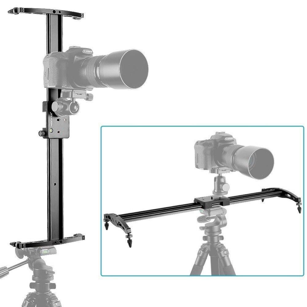 Neewer 47 /120 см DSLR Трек Долли Камеры Слайдер Видео Стабилизация Рельсовая Система с 176 унц./5 кг Грузоподъемность, для Фотографии