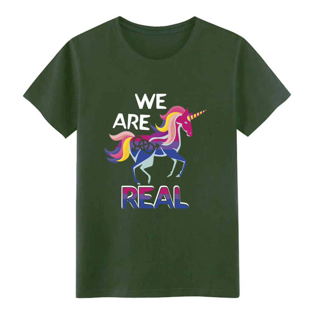 711d9671e3b ... bisexual pride bisexuality unicorn and bisexual t shirt create cotton  S-XXXL clothing Interesting Casual ...