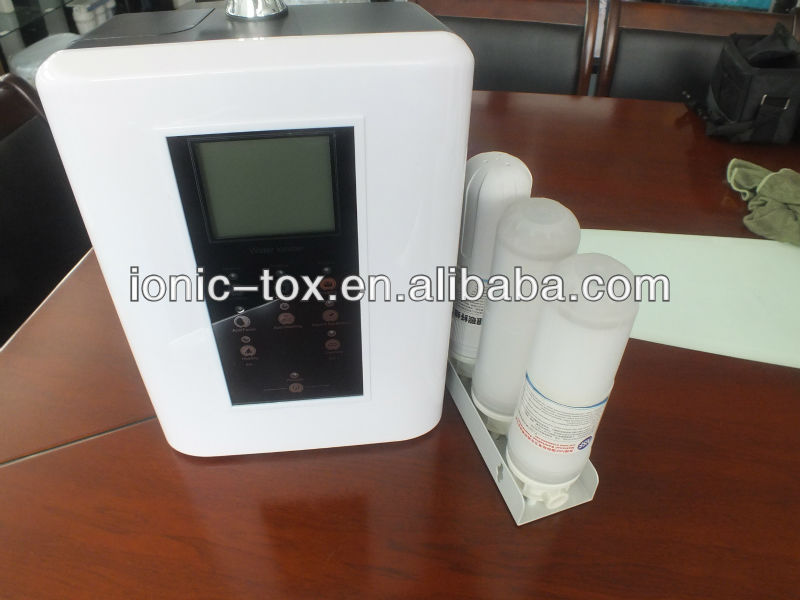 100% TOP QUALITY Alkaline Water Ionizer machine with heating function OH-806-3H,free ship to Brazil