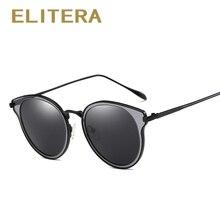 ELITERA Brand Elegant Fashion Ladies Sunglasses Female Framed Polarized Oculos De Sol Eyewear Accessories