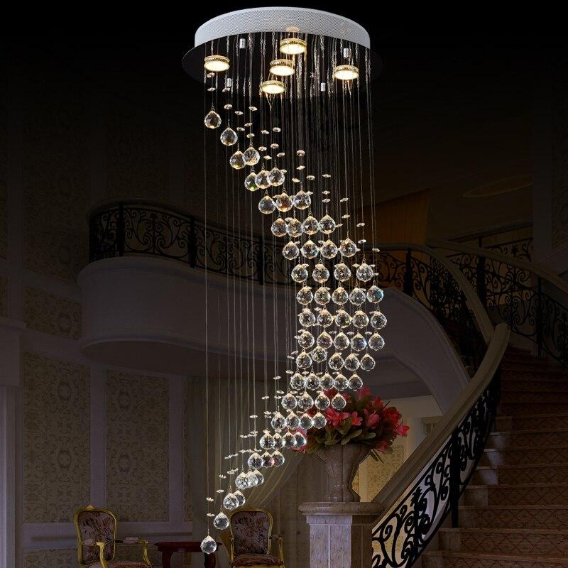 vallkin large crystal chandelier 5 lamps luxury crystal light fashion chandelier crystal light modern clear chandeliers