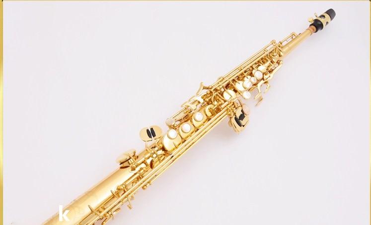 New Soprano saxophone Japan YANAGISAWA S901 B Soprano saxophone High quality musical instruments professional free shipping free shipping new high quality tenor saxophone france r54 b flat black gold nickel professional musical instruments