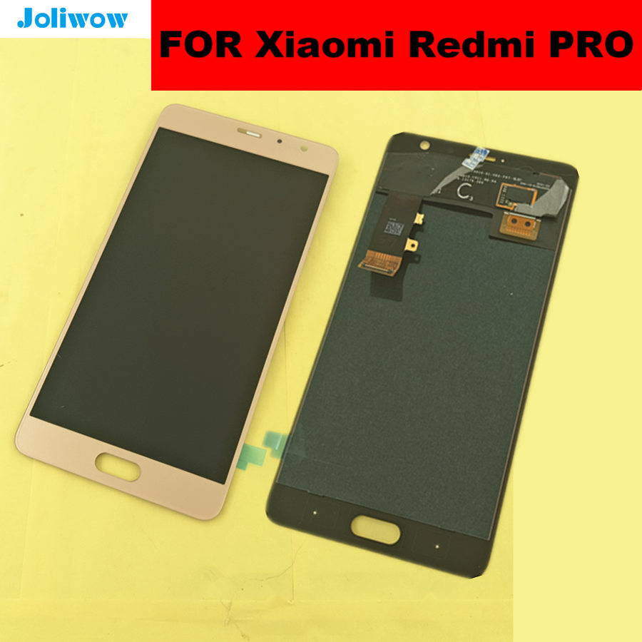 tested for Xiaomi Redmi Pro LCD Display Touch Screen Digitizer Glass Lens Assembly Replacement 5 5
