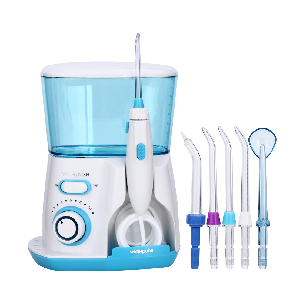 Waterpulse Dental Flosser V300 800ml Dental Irrigator Powerful Flosser Dental Water Jet Oral Hygiene Water Tooth Flosser waterpulse dental flosser v300 800ml dental irrigator powerful flosser dental water jet oral hygiene water tooth flosser