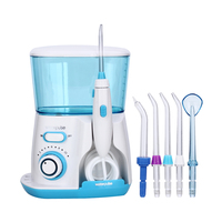 Waterpulse Dental Flosser V300 800ml Dental Irrigator Powerful Flosser Dental Water Jet Oral Hygiene Water Tooth Flosser