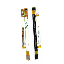 1PCS Original Power On/Off Button & Volume Up/down Buttons Flex Cable Parts For Sony Xperia C2304 C2305 S39c S39h Phone