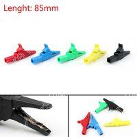 Areyourshop Sale 50PCS 5Colors 32A 1000V Copper Alligator Clip For 4mm Banana Multimeter Pen HV Test