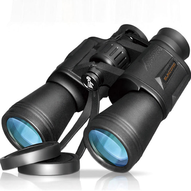 High Magnification Binocular Telescope <font><b>20x50</b></font> Bak4 Prism Multi Broadband Coating <font><b>Monocular</b></font> Long Range Professional Binoculars image