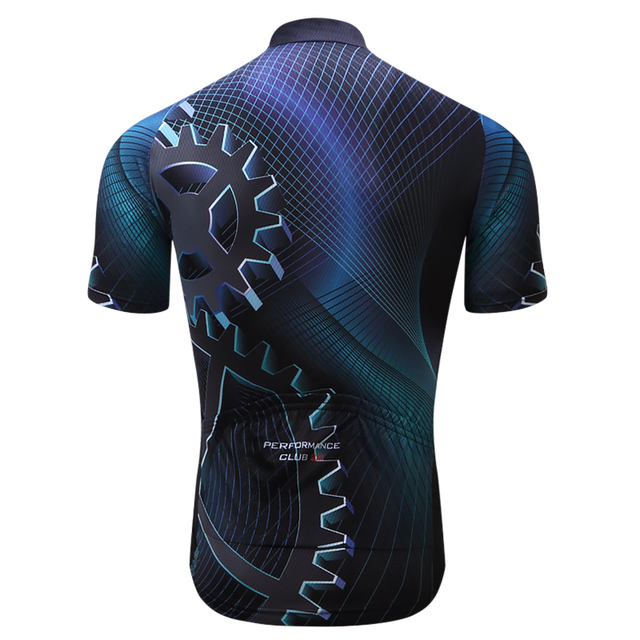 Teleyi Bike Team Men Racing Cycling Jersey Tops Bike Shirt Short Sleeve Bicycle Clothes quick dry Cycling Clothing Ropa Ciclismo