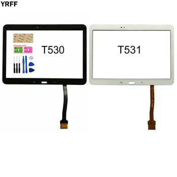 For Samsung GALAXY Tab 4 T530 T531 T535 SM-T530 Touch Screen Digitizer Sensor Touch Glass Lens Panel 10pcs lot touchscreen for samsung galaxy grand j1 mini j105 sm j105y j105h touch screen digitizer sensor touch glass lens panel