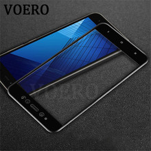 VOERO Full Screen Cover Tempered Glass For Xiaomi Redmi Note 5A 16G Premium Screen Protector Glass For Redmi Note 5A 32 64G Film