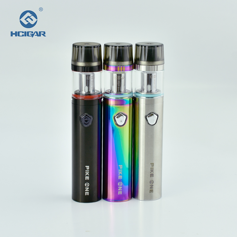Cascade Dual Core One Plus Starter Kit Magnetic Cover 1600mah Mod Built In Battery Air RTA Tank All In One Vape Pen Vs Ijust S