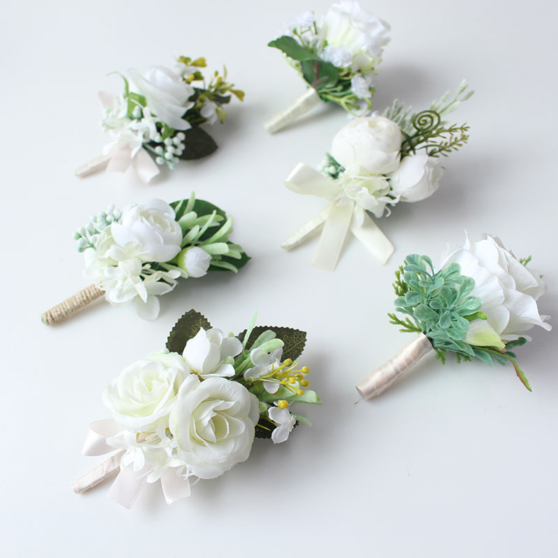 wedding boutonniere corsage groom  (2)