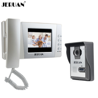 4 3 TFT LCD Color Video Door Phone Bell Intercom System Kit With Alloy Weatherproof Cover