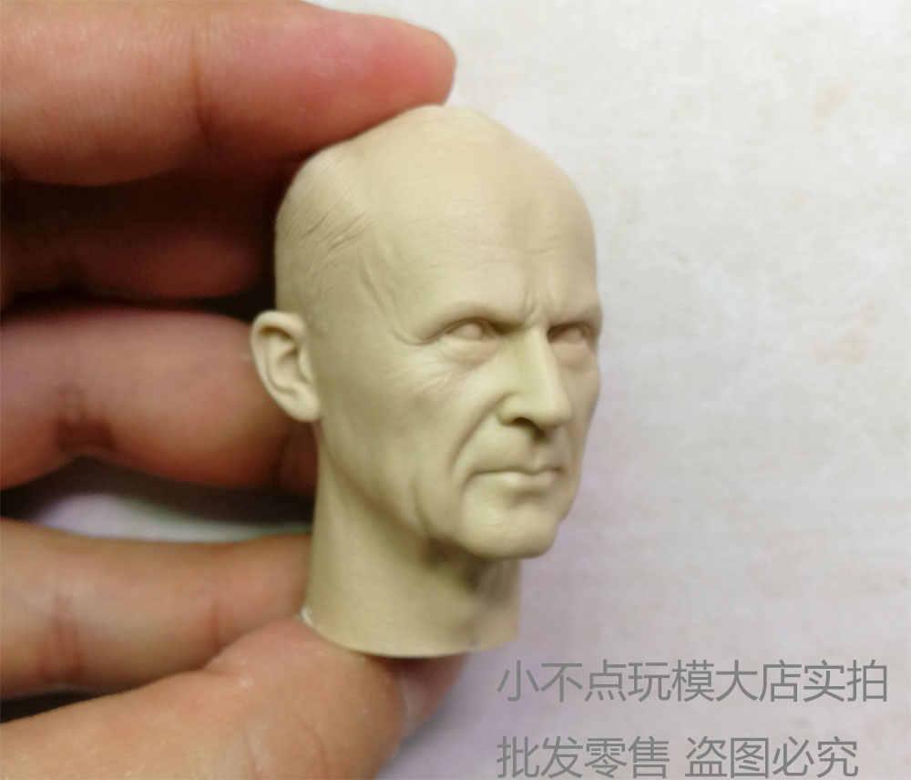 blank Hot 1//6 scale Head Sculpt WWII German Admiral Karl Donitz unpainted