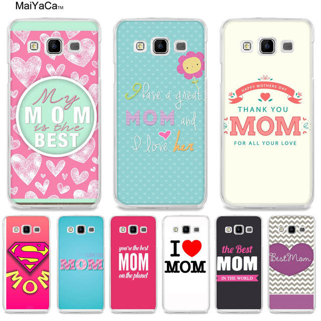 quality design 04507 64052 US $1.35 32% OFF MaiYaCa my best mom Printing Drawing protection phone  Cover for samsung A510 A3 A7 A8 A9 note 4 note3 case funda-in Half-wrapped  Case ...
