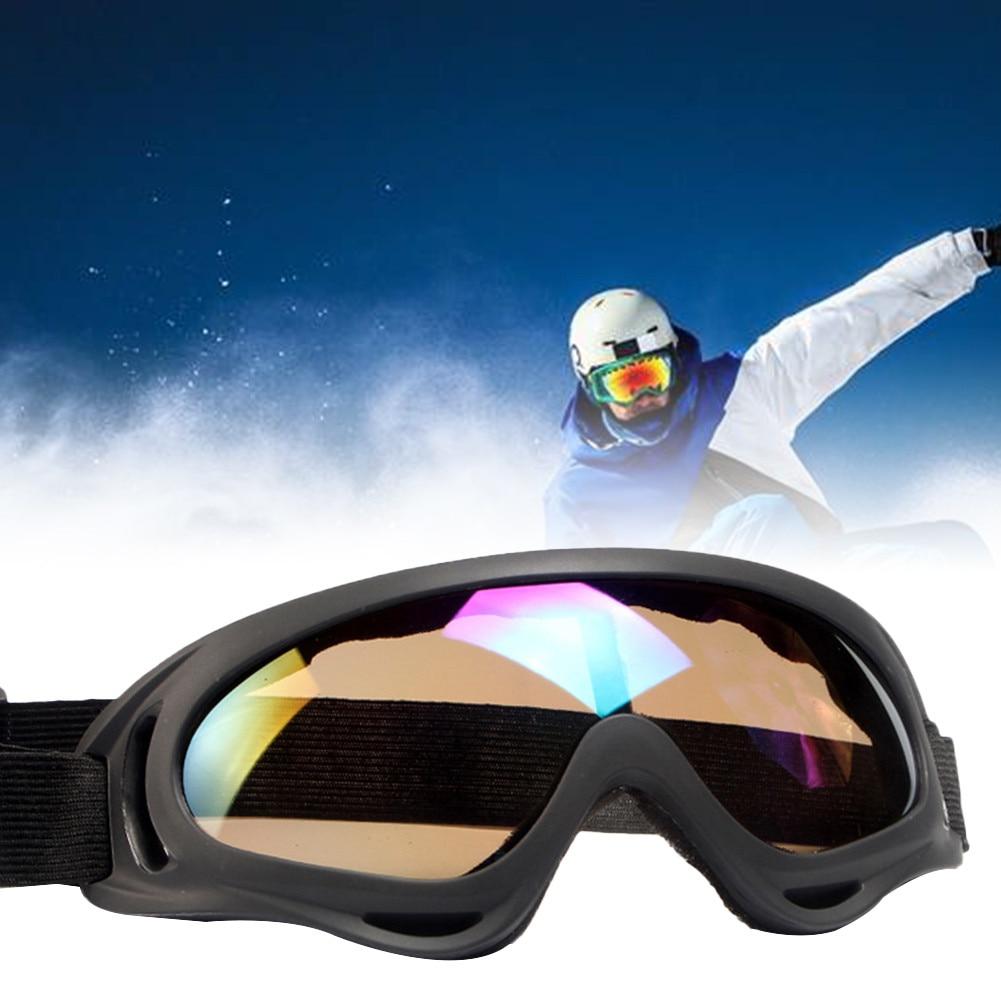 16e283c8f4 Colorido de esquí gafas de sol gafas Anti-viento parabrisas-país ...