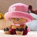 Бесплатная Доставка 40 СМ One Piece Плюшевые Игрушки Чоппер Плюшевые Куклы Аниме Милые Мягкие Игрушки подушки, чоппер Кукла
